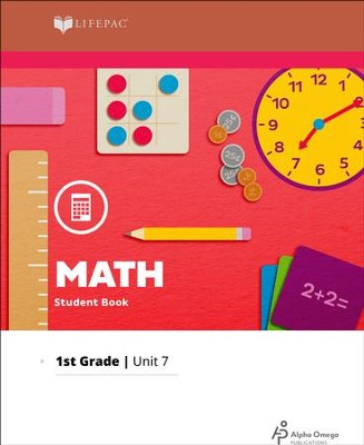 Lifepac Math Grade 1 Unit 7: Count to 200, Subtract to 12, Graphs   -