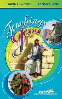 Teachings of Jesus Youth 1 (Grades 7-9) Teacher Guide   -