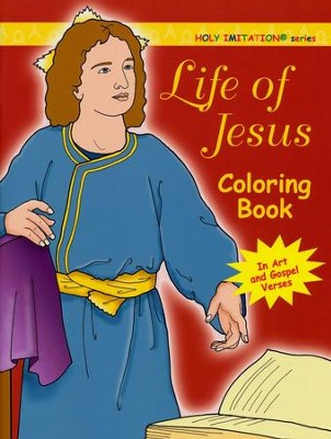 Life of Jesus Coloring Book: Katherine Sotnik: 9781586174293 ...