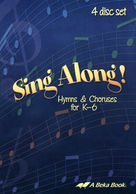 Abeka Sing Along! Hymns and Choruses Audio CD Set (4 CDs)   -