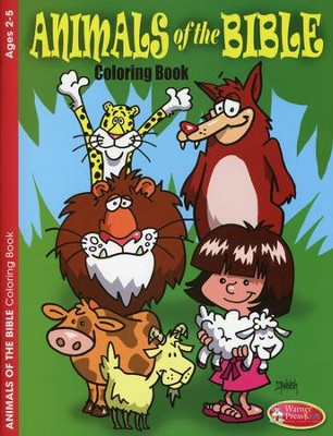 Animals of the Bible Coloring Book--Ages 2 to 5   -