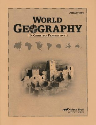 Abeka World Geography in Christian Perspective Answer Key   -