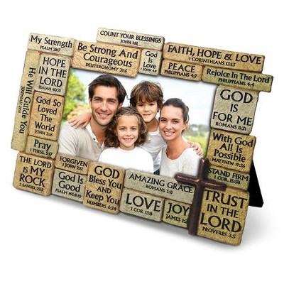 Stone Blessings Photo Frame  -