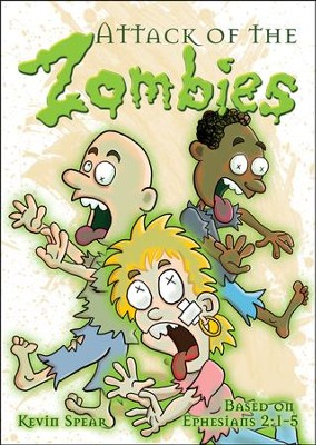 Attack of the Zombies (Ephesians 2:1-5) Outreach Booklet  -
