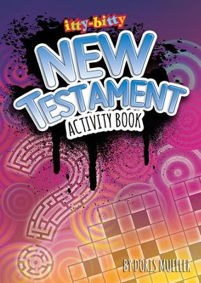 itty-bitty New Testament Activity Book  -