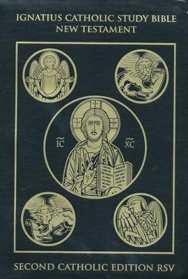 RSV Ignatius Catholic Study Bible New Testament 2nd Edition, Leatherbound  -     By: Scott Hahn