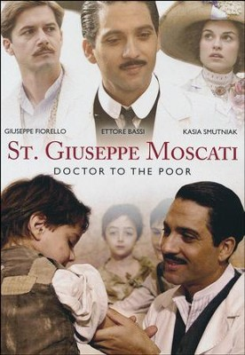 St. Giuseppe Moscati: Doctor to the Poor, DVD   -