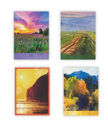 Nature, Blank Cards, Box of 12  -
