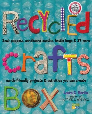 Recycled Crafts Box Paperback   -     By: Laura C. Martin
