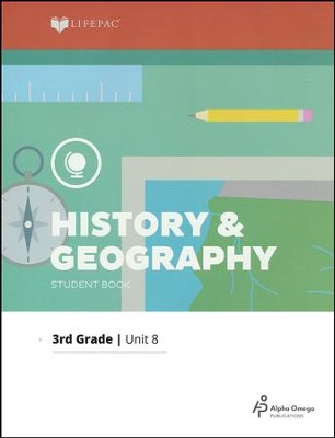 Grade 3 History & Geography Lifepac 8:   Mountain States, 2011 Edition  -