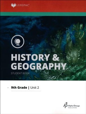Lifepac History & Geography Grade 9 Unit 2: Our National  Government  -