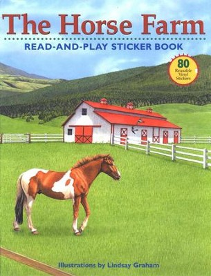 The Horse Farm: Read-And-Play Sticker Book   -