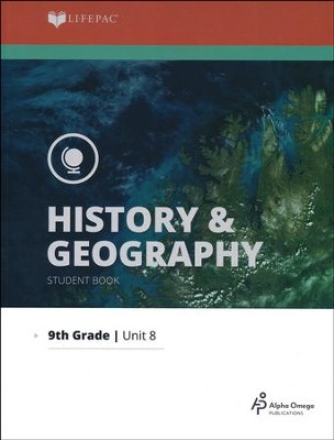 Lifepac History & Geography Grade 9 Unit 8: Man and His Environment  -