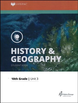 Lifepac History & Geography Grade 10 Unit 3: The Medieval World   -