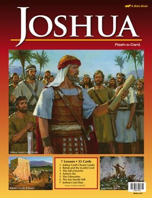 Abeka Joshua Flash-a-Card Set   -