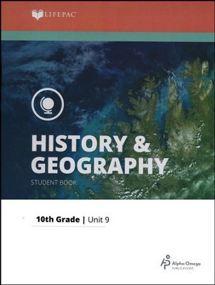 Lifepac History & Geography Grade 10 Unit 9: The Contemporary World  -