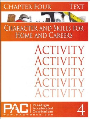 Industrial Skills Activities Booklet, Chapter 4   -