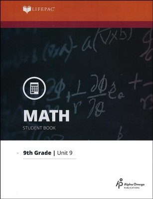 Lifepac Math Grade 9 Unit 9: Systems   -