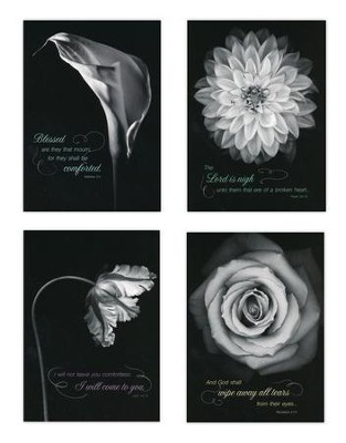 Heartfelt Comfort Sympathy Cards, Box of 12  -