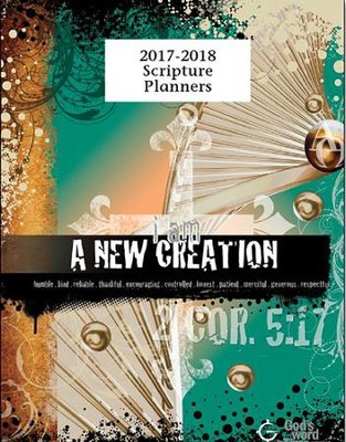God's Word in Time Scripture Planner: A New Creation  Elementary/Middle School Teacher Edition (NAB Version;  August 2017 - July 2018)  -