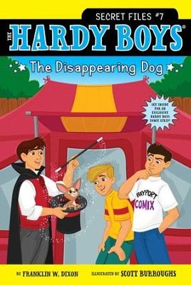 The Disappearing Dog - eBook  -     By: Franklin W. Dixon     Illustrated By: Scott Burroughs