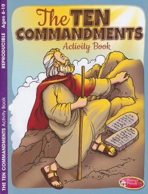 The 10 Commandments--Activity Book (ages 6 to 10)  -