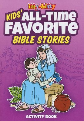 All-Time Favorite Bible Stories--Itty-Bitty Bible Activity Book  -