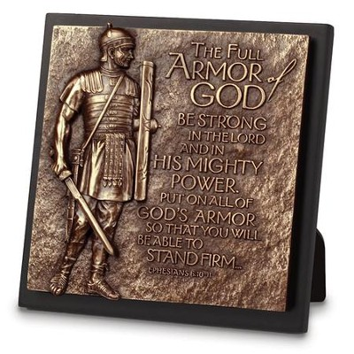 Armor of God, Sculpture Plaque   -