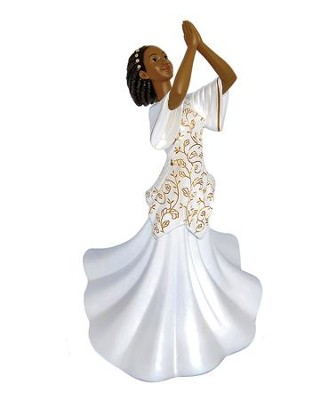 Praise Dancer Shadiya Figurine, Small  -