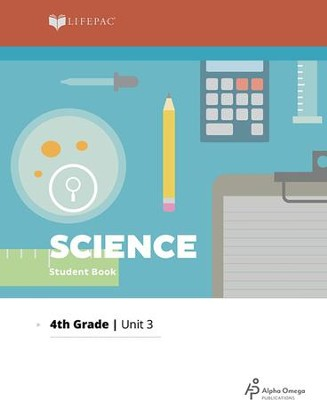 Lifepac Science Grade 4 Unit 3: Man's Environment   -