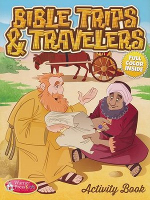Bible Trips & Travelers--Activity Book (ages 6 to 10)  -