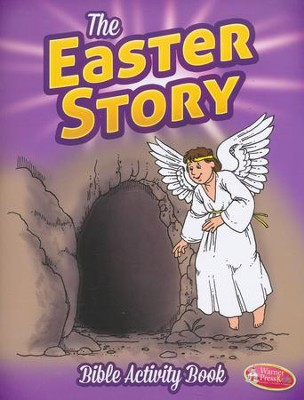 The Easter Story--Bigger Bible Activity Book (ages 6 to 10)  -