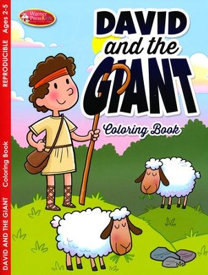 David & the Giant Coloring & Activity Book, Ages 2-5  -