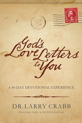 God's Love Letters to You: A 40-Day Devotional Experience - eBook  -     By: Larry Crabb