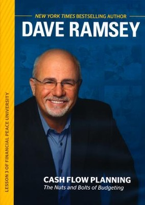 Cash Flow Planning: The Nuts and Bolts of Budgeting, DVD   -     By: Dave Ramsey