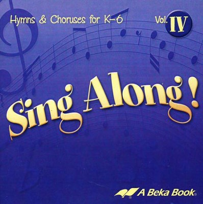 Sing Along! Volume 4 Audio CD   -