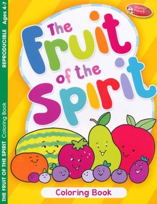 Fruit of the Spirit Coloring Book, Ages 4-7: 9781593177669 ...