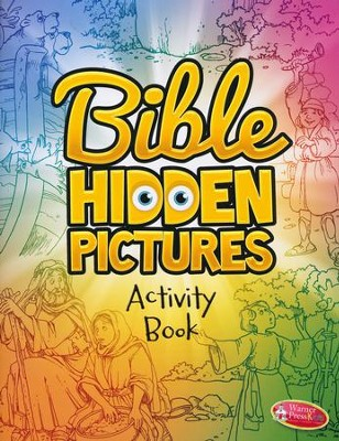 Bible Hidden Pictures Activity Book, Ages 5-8  -