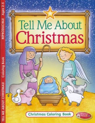 Tell Me About Christmas Coloring and Activity Book--Ages 2 to 5  -