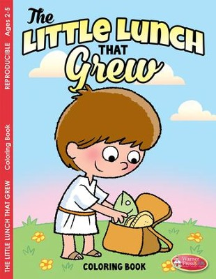 Little Lunch that Grew Coloring and Activity Book--Ages 2 to 5  -