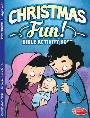 Christmas Fun Bible Activity Book--Ages 6 to 10  -