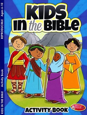 Kids in the Bible Activity Book--Ages 6 to 10  -