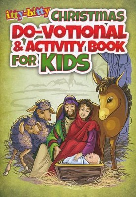 Christmas Do-votionals--Itty-bitty Bible Activity Book  -