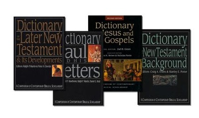 The IVP New Testament Dictionary Set, 4 Vols. A Compendium of Contemporary Biblical Scholarship  -