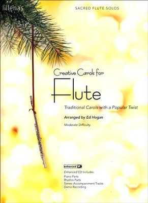 Creative Carols for Flute (Book w/CD-ROM)   -