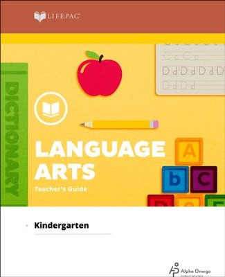 Lifepac Language Arts, Kindergarten, Teacher's Guide   -     By: Alpha Omega
