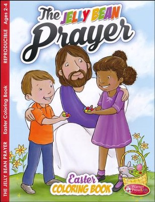Jelly Bean Prayer Coloring Book (ages 2 to 4)  -