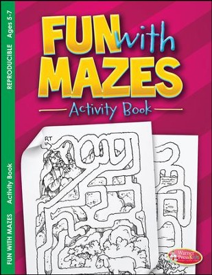 Fun with Mazes Activity Book (ages 5 to 7)  -