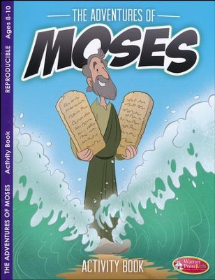 Adventures of Moses Activity Book (ages 8 to 10)  -
