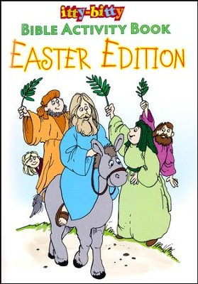 Easter--itty-bitty Bible Activity Book  -